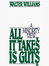 All It Takes Is Guts (MP3): A Minority View